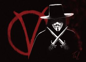 V for Vendetta by Thubakabra