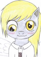 Derpy Hooves at School by Vocaloidstars