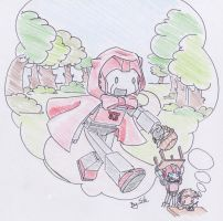 Little Red Riding Bot by Sidian07