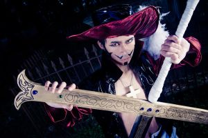 One Piece: Dracule Mihawk by RaikouCos