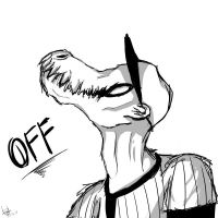 OFF - The Batter by Darkdeathqueen