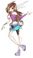 Antonia of Winx Club by NatalieSaly