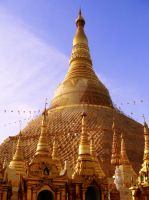 The Great Shwedagon Pagoda 02 by phantommask