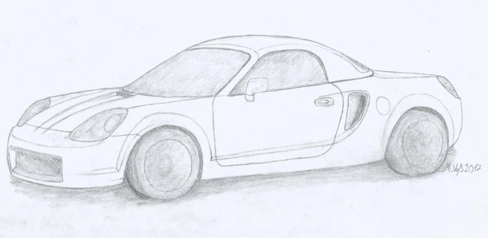 Toyota MR2 W3 by DerVossybaer