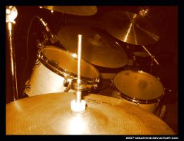 drums by cesar-one