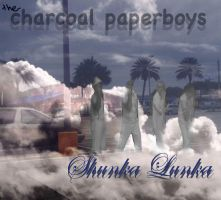 CHARCAOL PAPERBOYS ALBUM COVER by thelunchbuddiez