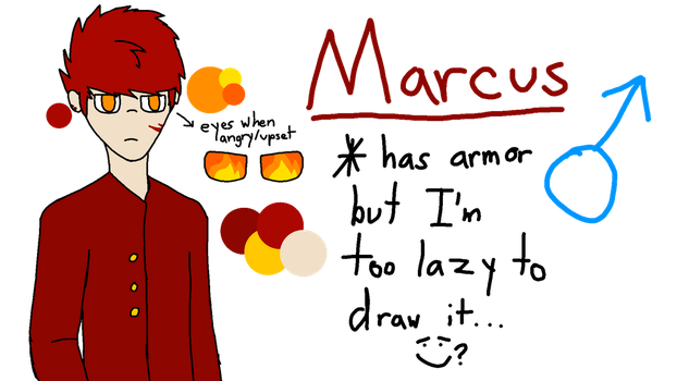 Marcus Ref by TaniPoniBoi
