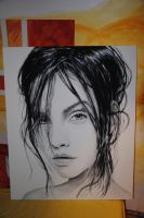 Girl Face 3 by chillerofhell