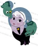 Toddler Ursula and Pets by smallvillereject