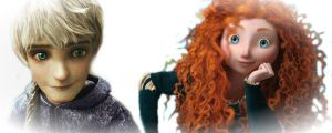 Jack and Merida by alexaAnime1