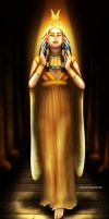 Queen Cleopatra by Mareishon