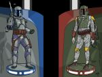 Jango and Boba Wallpaper by Kaal-Jhyy