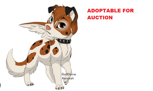 ADOPTABLE FOR AUCTION CLOSED by naty15