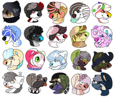 My Darling Characters -Set 1- by Poppln