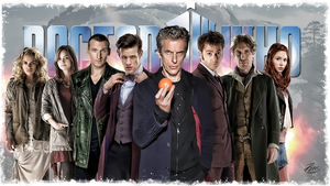Dr Who Wallpaper by PZNS