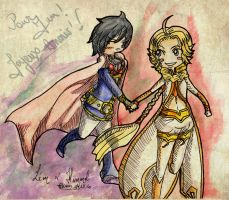 Chibi Himmel and Leon :3 by Ariall
