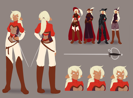 Bard Character Design by MagicalZombie