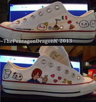 Hetalia Custom Shoes 4 by ThePentagonDragonK