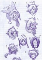 Doodles - 3 by Insane-Sanety