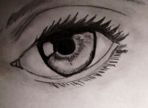 Quick Eye Sketch by Stipes00245