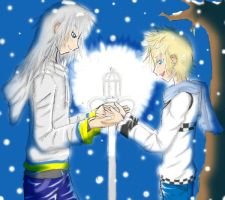 chrismas night with you Entry6 by Rikuroku