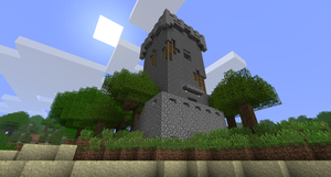 Minecraft - Medieval Tower by TheNose90