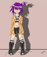 Noodle fashion by LilRedRoses