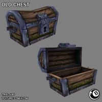 Old Chest Model by LaNiMaL