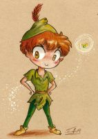 Peter Pan by Chibi-Joey