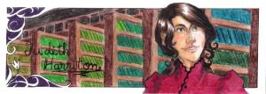 Bookmark - Judith Harriton by Madda-Sketches
