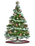 Christmas Tree 2 PNG Stock by Jumpfer-Stock