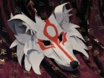 Okami Mask for Otakon 2009 by Flamegirl34568