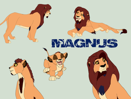 Magnus- My lionsona by Pencil-and-paper-247