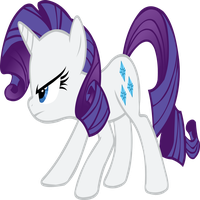 Rarity is annoyed by Stealth1139