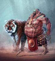 Tiger Master by Anarki3000