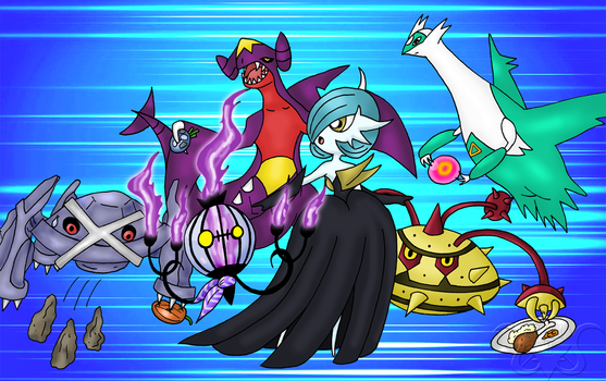 Pokemon Showdown Team by Madmaxepic
