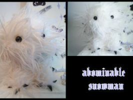 Abominable Snowman by deadsypunky