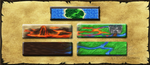GUI - Settlement Selection Buttons - Game Art by Tatmione