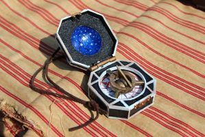 Scratchbuilt Jack Sparrow Compass by Joker-laugh