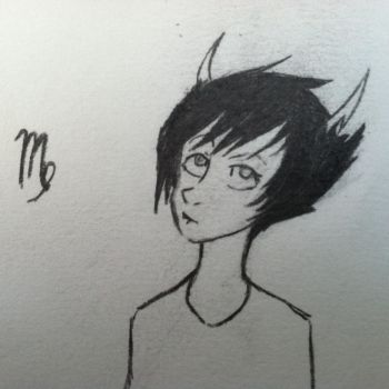 Look guys, I drew a Homestuck thing. by MissMystery99