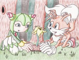 Cosmo and Tails by DeathCaller13