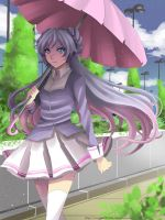 Umbrella Girl by Sartika3091