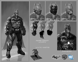 Batman Suit Concept by Vital-Dynamite