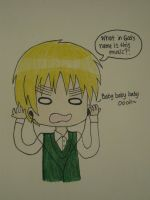 England's reaction to JB's Baby by PolestarRemnants13