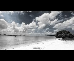 Punggol End - Beach by duhhitscolin
