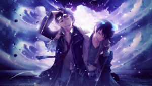 Ao no Exorcist Wallpaper by Totoro-GX