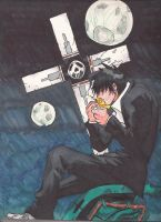 Wolfwood moonlight finished by Marimokun