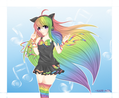 The Musical Rainbow! by xare-niel