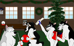 Merry Christmas 2014 by Shadow-D-Husky