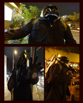 Metal Plague Doctor Costume . by InvaderJoe1